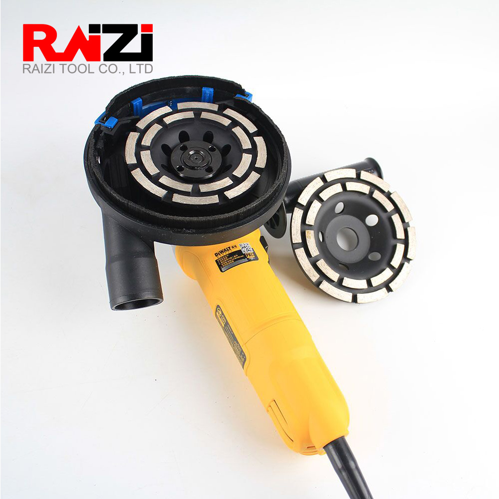 Raizi 115/125/180 Mm Diamond Grinding Cup Wheel For Concrete Abrisave Grinding Disc Cutting Saw Grinder Wheel