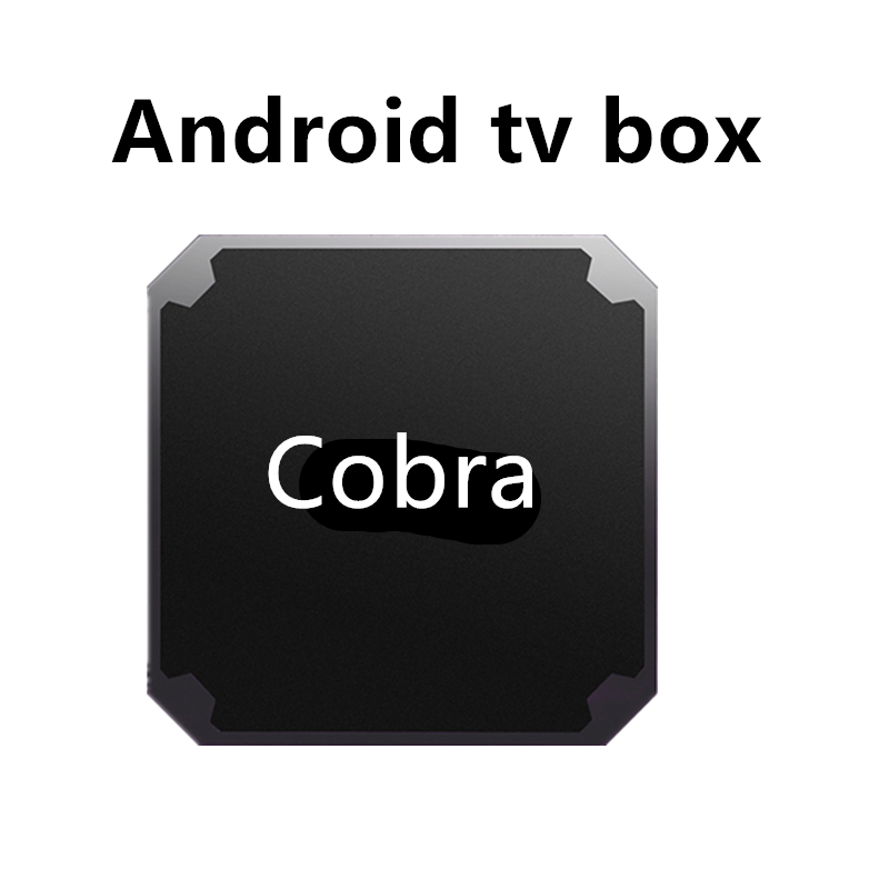 Cobra iptv box android tv box Amlogic S905W smart iptv box Mali-450MP support m3u vlc set top box