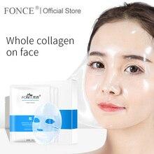 Fance Корея Золото Коллаген маска для лица 10 шт. против старения улучшение грубого омоложения туго выцветают тонкие линии отбеливание ярче кожи