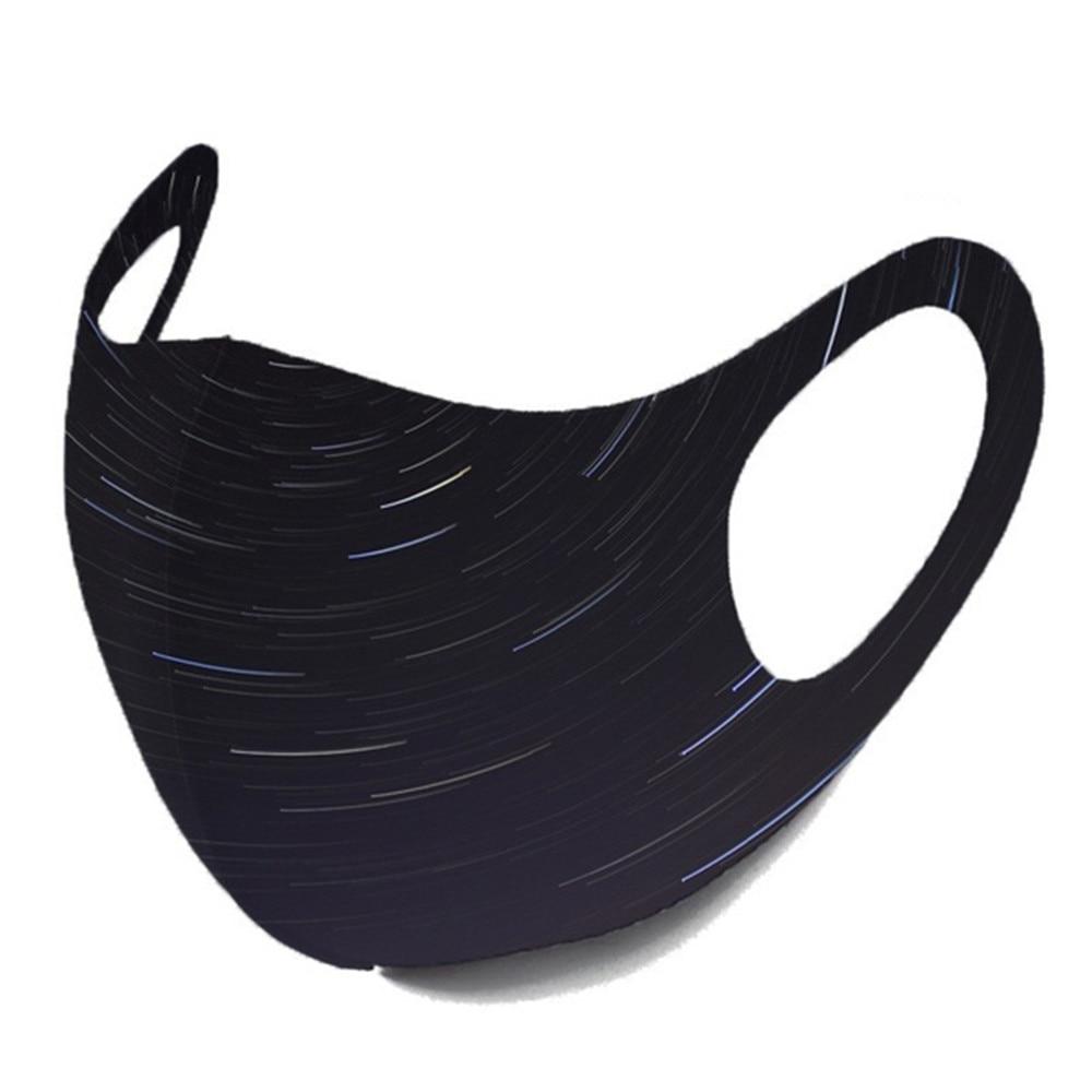 1pc maska za ustnice PM2.5 proti meglici črna maska - Orodja za nego kože - Fotografija 2