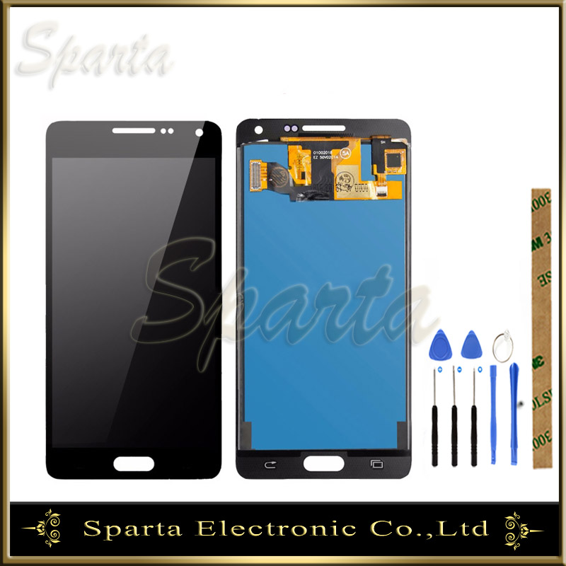 TFT Tested <font><b>LCD</b></font> For <font><b>Samsung</b></font> Galaxy <font><b>A5</b></font> 2015 A500 A500F A500M <font><b>LCD</b></font> Display Screen With Touch Screen Sensor Complete Assembly image