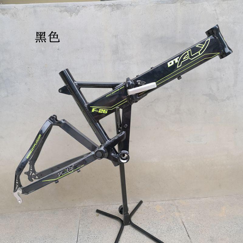 Сплав алюминий 20 дюймов MTB подвеска Складная велосипедная Рама V/дисковый тормоз Складная DH горный велосипед рама