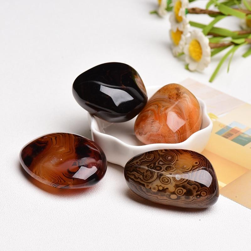 Натуральный высококачественный Агат рейки, лечебный камень, домашний декор, минеральный образец, красочная коллекция, поделки, подарки сво...