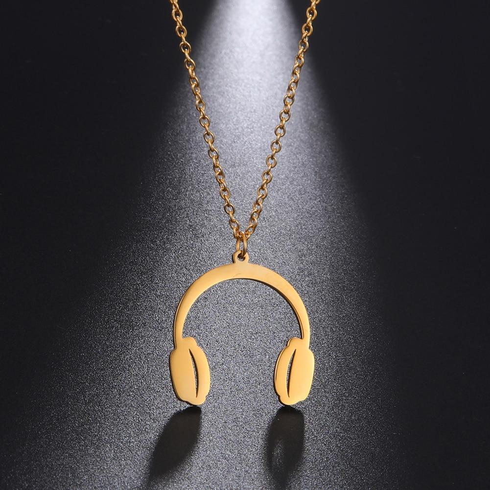 My Shape Headset Headphone Music Pendant