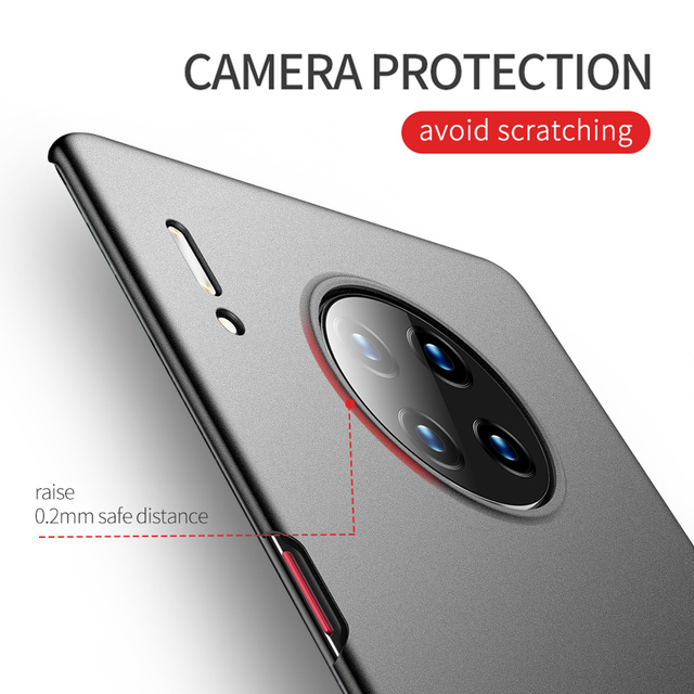 Case For Huawei Mate 30 20 Lite Hard PC Lightweight Cover Ultra Slim Matte Cases For Huawei Mate30 Mate 30 20 10 Lite Pro X Case