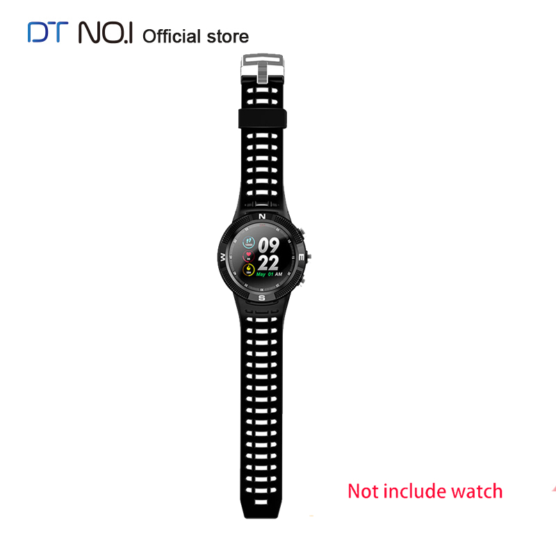 Original DTNO.1 Replacement Smartwatch Band Strap for <font><b>NO.1</b></font> <font><b>F18</b></font> DT08 Smart Watch Fitness Silicone Wrist Band Strap High Quality image