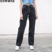 Za 2020 в винтажном стиле; Сезон лето джинсы для женщин стиле