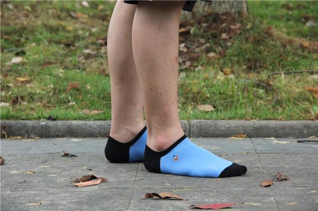 Купить носки мужские однотонные хлопковые модные пикантные невидимые картинки