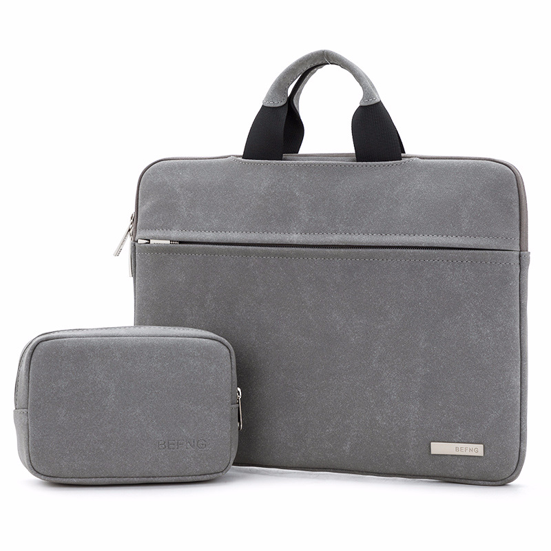 Men Business Bag For 13 14 15 Inch Laptop Briefcase Bags 2 In 1 Set Handbags High Quality Matte Office Bags Totes Male For Men