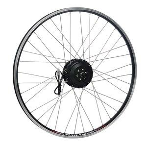 Image 1 - YOSE POWER Electric Bike Rear Hub Motor Wheel 28 36V 350W Cassette Brushless Ebike Conversion Kit kit bicicleta electrica