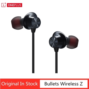 Original OnePlus Bullets Wireless Headphones Z Bluetooth Earphone Magnetic Control Google Assistant for OnePlus