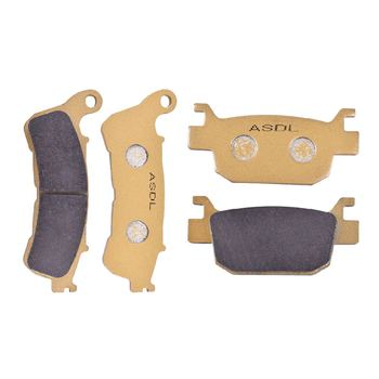 125CC 150CC Motorcycle Front and Rear Brake Disc Pads Set For HONDA SH125i SH125 SH 125 i SH150i SH150 SH 150 i 2009-2012 image