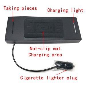 Image 4 - Chargeur de voiture sans fil QI 10W, base de charge pour téléphone Audi A6, C7, RS6, A7, 2012, 2013, 2014, 2015, 2016, 2017, 2018