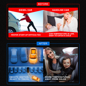 Image 2 - LF bros 자동차 엔진 냉각수 히터 220V 240V 1500W 예열기 모터 가열 예열 에어 주차 히터