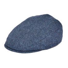 BOTVELA Flat Cap Men 100% Wool Tweed Ivy Hat Herringbone Newsboy Caps Gatsby Gol