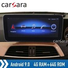 Android 9 4G RAM Widescreen monitor RHD C class W204 head unit radio touch displ