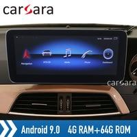 Android 9 4G RAM Widescreen monitor RHD C class W204 head unit radio touch display C180 dvd player C300 PAD C63 GPS car navi
