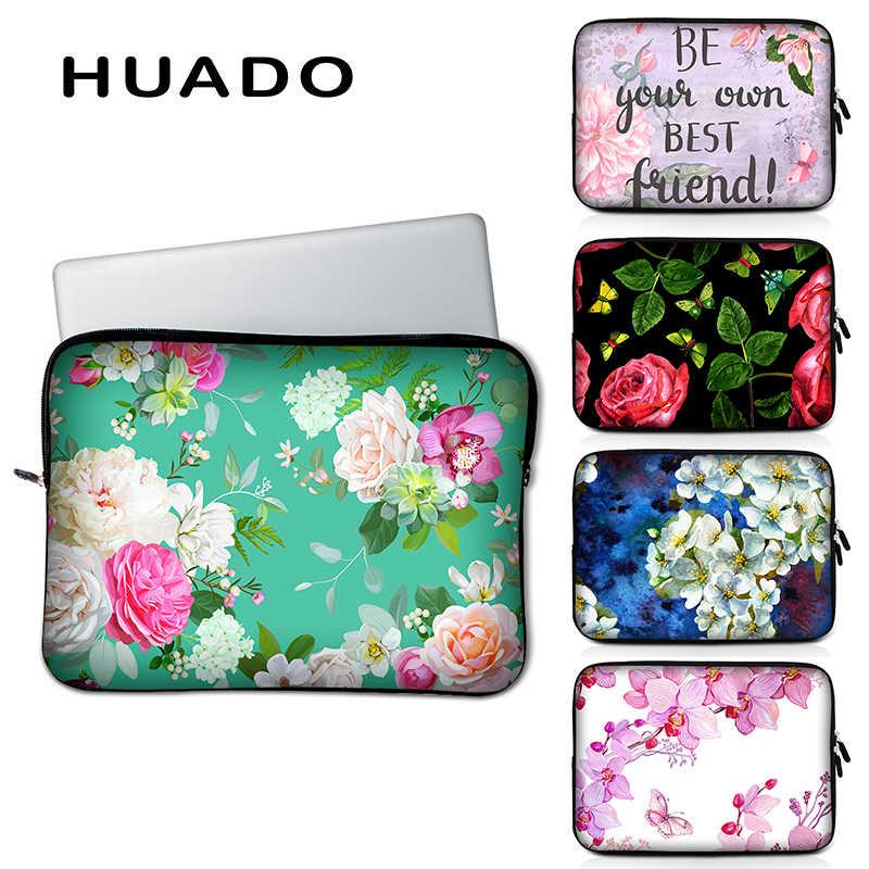 Flower Laptop Case 13//15 Briefcase Handbag Carrying Sleeve Case Cover