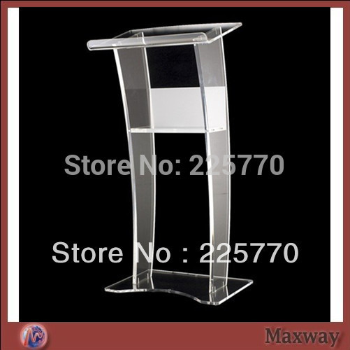 Church Acrylic Podium/Free Shipping Beautiful Easy Cheap Detachable Acrylic Podium Pulpit Lectern