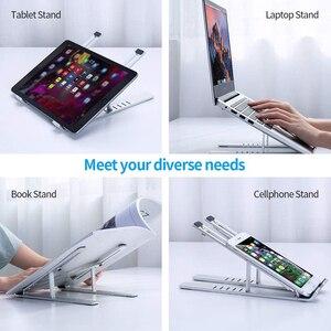Image 4 - Einstellbare Notebook 1/2PC Ständer Tragbare Halter Faltbare Laptop Tablet Ständer Computer Unterstützung Für MacBook Air Pro ipad für dell