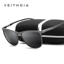 Men's Sunglasses VEITHDIA Polarized Eyewear-Accessories Vintage 6623 Lens UV400 Aluminum