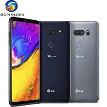 Оригинальный мобильный телефон LG V35 ThinQ 6,0 дюймов, 6 ГБ ОЗУ, 128 Гб ПЗУ, Android, Восьмиядерный процессор Snapdragon 845, двойная камера, сканер отпечатков ...