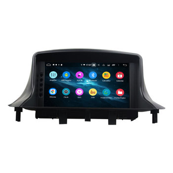 7 Separate Android 9.0 PX6 Multimedia Player For RENAULT Megane III Fluence 2009-2016 Car Radio Audio 6 Core Stereo DSP image