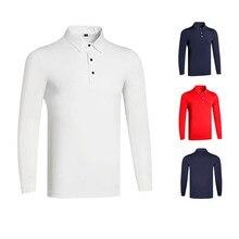 Horse Riding Polo Shirt Men Clothes Equestrian Long Sleeve Top T Shirts English Style Slim Fit Sports T-shirt Male Cotton Tshirt
