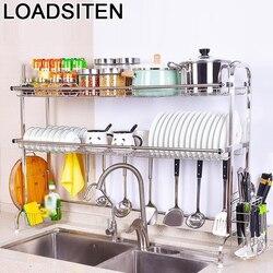Vaisselle Escurridor De Platos Cosina akcesoria zlewozmywak ze stali nierdzewnej Cozinha Rack Mutfak Cocina Organizer do kuchni