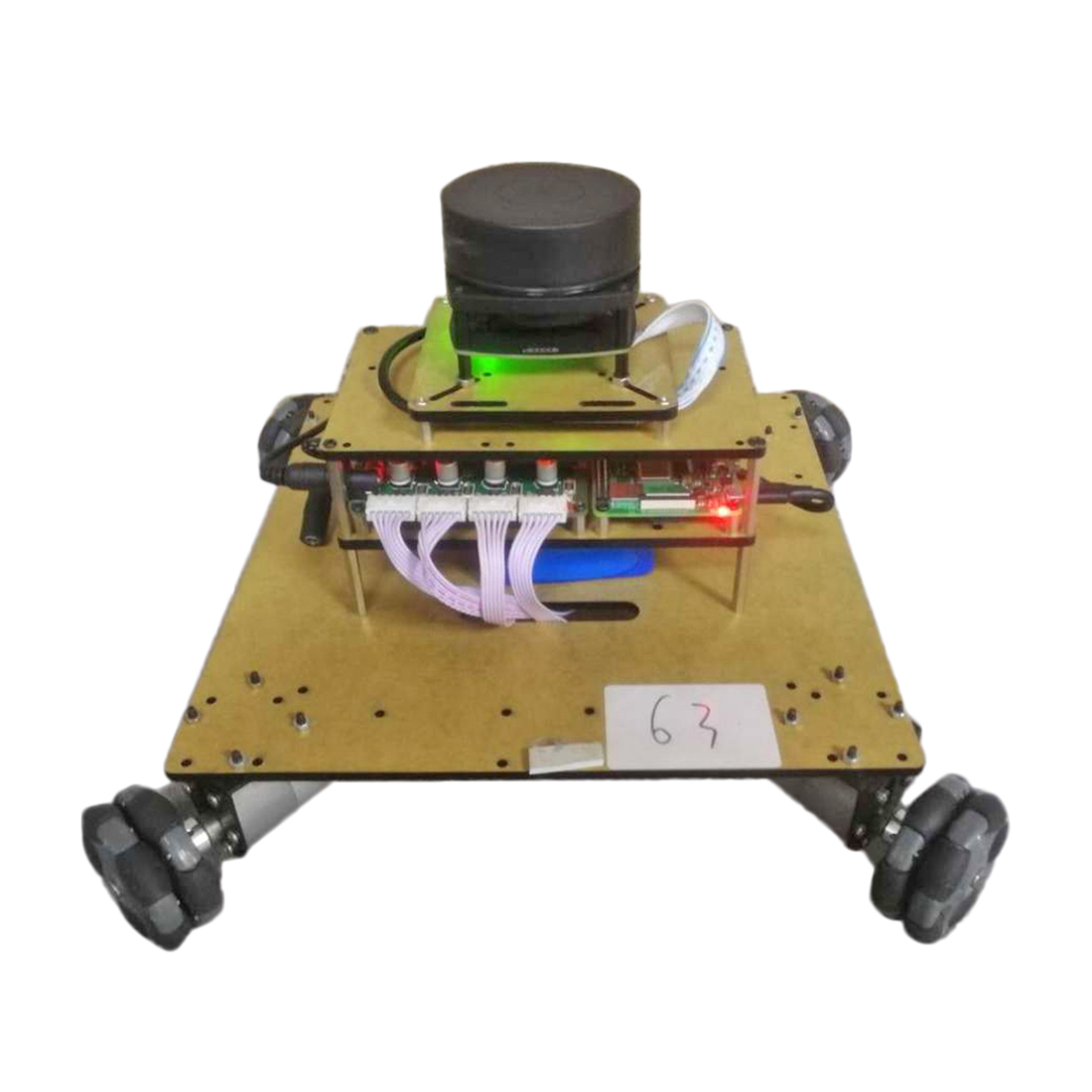 Smart Intelligent Programmable Robot Operating System Ailibot Omnidirectional Robot Car Kit For Teaching Science - 03/04 Version