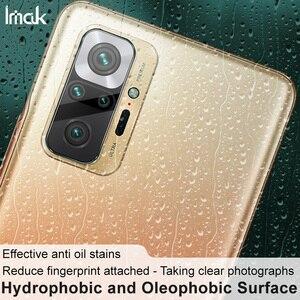 Image 4 - Imak Camera Lens Film Voor Xiaomi Redmi Note 10 Pro Achteruitrijcamera Len Gehard Glas Protector Beschermende