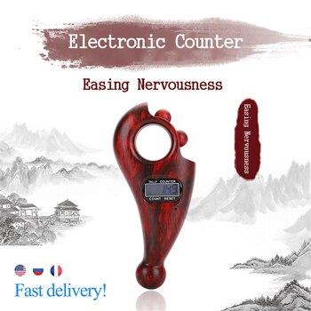 цена на Digital Counter Row Finger Counter LCD Electronic Digital Tally Namo Amituofo Buddha Beads Counter For Buddhist Finger Game