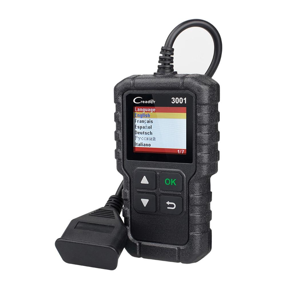 Высокое качество CR3001 X431 автомобильный диагностический сканер инструмент автомобильное Стирание/сброс кодов неисправностей Диагностическ