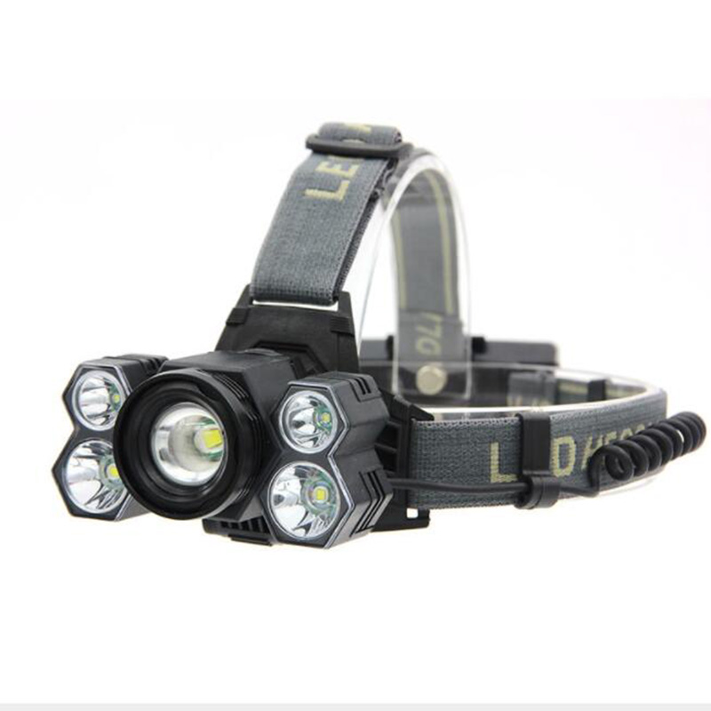 XPE T6 5//7 LED Headlamp Headlight Rechargeable Waterproof 18650 Head Light Torch