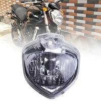 Für 2004-2009 Yamaha FZ6 FZ6N FZ 6N FZ-6N 04 05 06 07 08 09 Motorrad Scheinwerfer Kopf Licht lampe Scheinwerfer Montage Gehäuse Kit