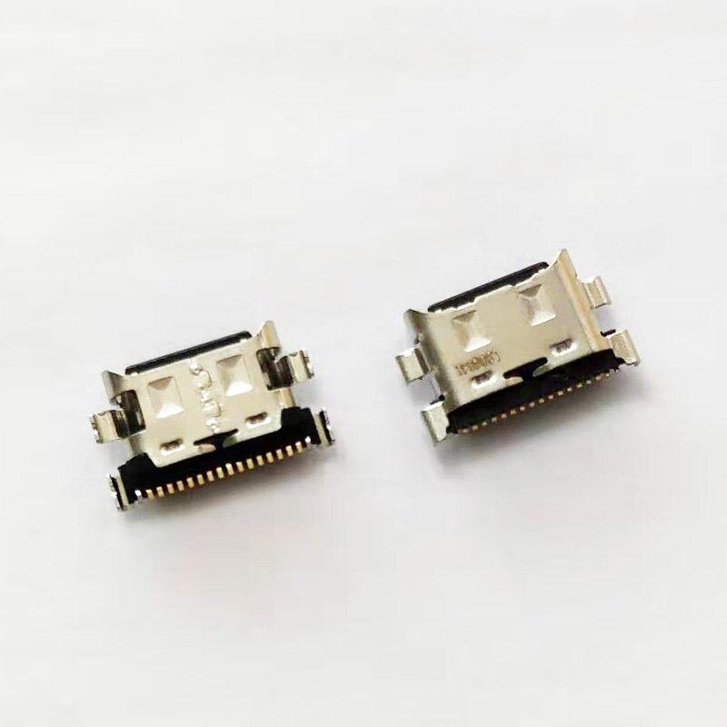 50pcs/lot For Samsung Galaxy A30 A305F A50 A505F A70 A705F Micro USB Charging Port Dock Socket Plug Charger Connector Socket