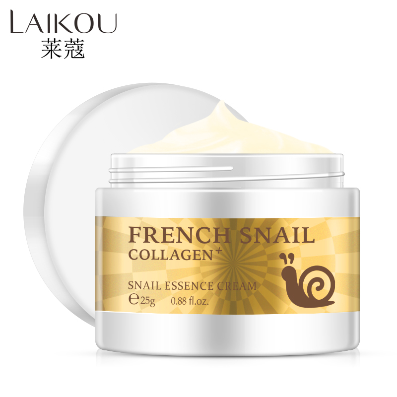 Slime Snail Face Cream Hyaluronic Acid Anti-Wrinkle Anti-aging Facial Day Cream Collagen Moisturizer Nourishing Skin Serum Care