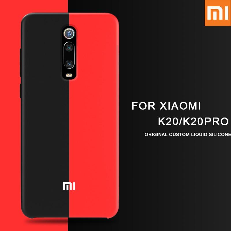 XIAOMI Back-Case Liquid Pocophone F1 Redmi K20 A2-Lite Silicone Soft-Protection Mix 3