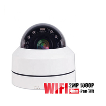 WiFi IP Camera 2MP Full HD 1080P SD Card Slot Dome Security Outdoor Surveillance Camera CCTV Night Vision Video Surveillance kerui surveillance cctv wifi camera hd 1080p outdoor waterproof infrared night vision security video ip camera