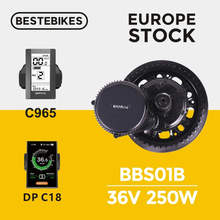 Bafang мотор BBS01 BBS01B 36V 250 W, фара для электровелосипеда в комплект для переоборудования электрического велосипеда Электрический привод мотор, Электрический велосипед conversion kit