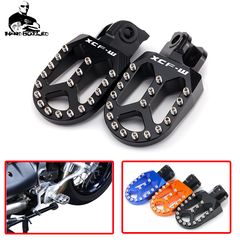 Motorcycle Rear Foot Pegs Rests Passenger Footrests For KTM 125 250 300 <font><b>450</b></font> 530 EXC/EXC-F/SX-F/XC/XC-F <font><b>68</b></font> 85 SX 125SX 250SX image