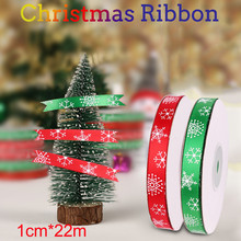 (25 Yards/roll) Silk Satin Ribbons Gift Wrapping Decoration Christmas Ribbons Diy Craft Tree Handmade Supplies Ribbon 10mm
