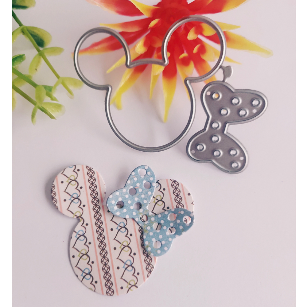 Rabbit Flower Or Mickey Mouse And Mickey Gifts New Clipboard Clipboard Sheet Metal Stamping Stamp And Business Card Printing Die