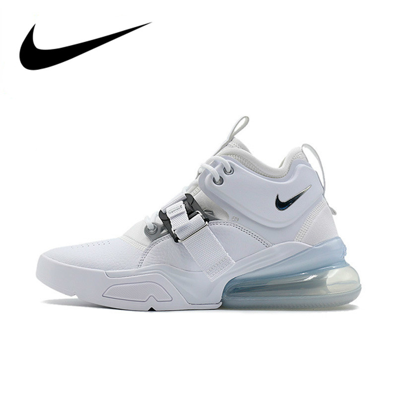 US $65.0 35% OFF|Original Authentic Nike Air Force 270 Men's Running Shoe Fashion Shock Absorption Sport Outdoor Sneakers New Arrival AH6772 100 in