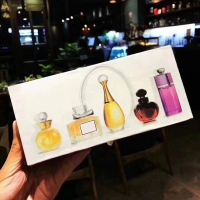 5pcs/set Mini Perfume 3ml/5ml Women Men Perfumes Mujer Originales Fragrances for Women Deodorant