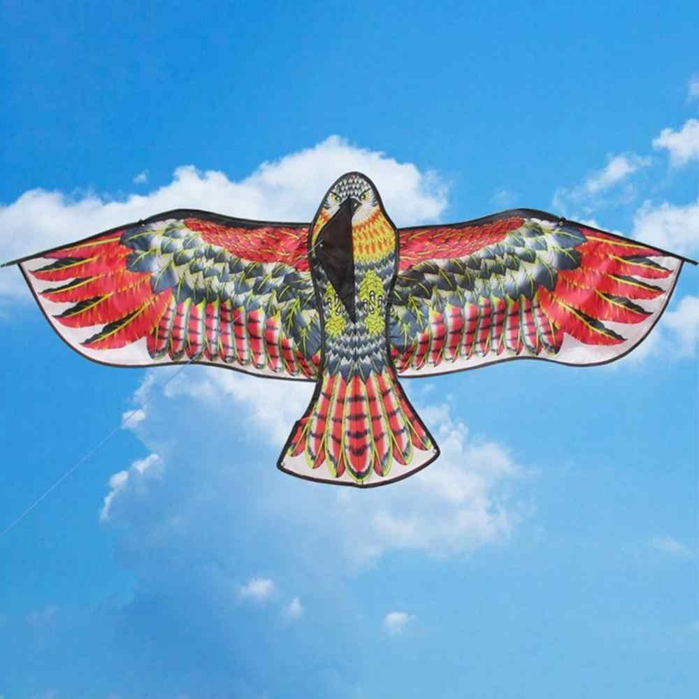 ใหม่ของเล่น 1.1 M ขนาดใหญ่ Eagle Kite Novelty Eagle Kite บินง่ายควบคุมนอกครอบครัวกลางแจ้งสนุกกีฬาสำหรับเด็กที่ดีที่สุดของขวัญ