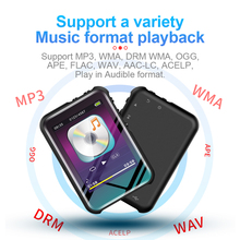 цена на 8/16GB M16 MP4 Player 2.4 Inch LCD Full Touch Screen Bluetooth 4.0 stereo Music Player Mini Player Portable Slim MP3 MP4 Player