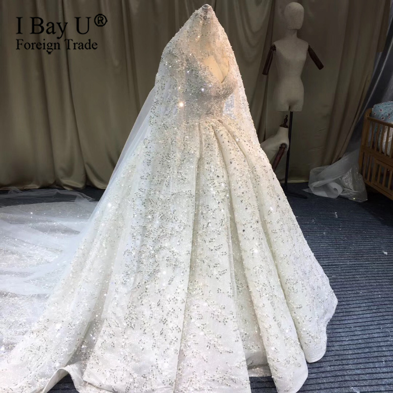 Voile De Mariage De Luxe Rhinestone Pearl Beaded Veils Wedding Veil Sparkle Long Bridal Veil Wedding Accessories Velo De Novia