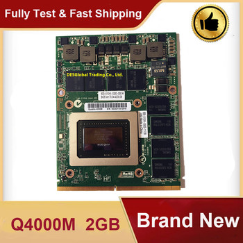 New!!Quadro 4000m Q4000M N12E-Q3-A1 Video VGA Graphics Card With X-Bracket CN-0HGXY3 HGXY3 For DELL M6600 HP 8760W 8740W