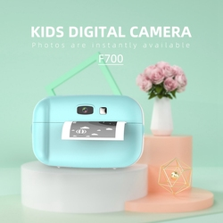 Children Mini HD Camera Cute Toys for Kids Baby Birthday Gift Photography Props 2.0 Inch Ultra High Definition Display